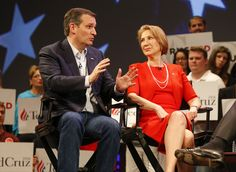 Cruz announces Carly Fiorina as his running mate - Republican presidential candidate Ted Cruz is expected to announce that Carly Fiorina will be his vice presidential running mate if he is the GOP nominee for president. Here are four reasons she makes sense for that role. (Sarah Parnass/The Washington Post) By Sean Sullivan and Robert Costa April 27 at 4:29 PM