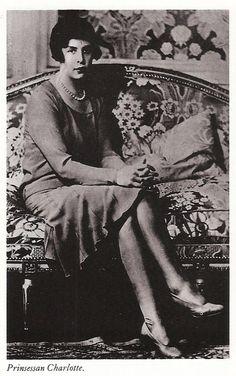 HSH Princess Charlotte of Monaco,daughter of HSH Prince Louis II of Monaco and mother to HSH Prince Rainier III of Monaco.