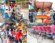 Cycle Rickshaw can be very interesting mode of transport for tourist in city area so that they can enjoy the hustle bustle of city at a slow pace. #CycleRickshaw, #tourist, #RajasthanTour http://godelhi.net/jaipur-sightseeing-tour/