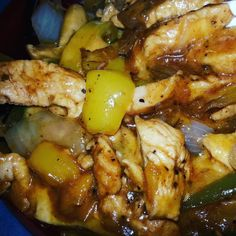 Made chicken fajitas for my birthday dinner last night. No tortilla or rice.  It was really good.  #weightlossjourney #lowcarb #lowcarbfreindly #fitnessjourney #girlswhoworkout #gitouttaherefat #nomorefat #fitfam #icandothis #itwillgetbetter #gottastickwithit #marathonnotasprint by kappy87