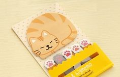 Items similar to Fat cat sticky note cute animal stick marker Pet cat pussy cat brown cat memo note Business Agenda memo sticky memo diary index paper on Etsy Cute Office Supplies, Office And School Supplies, Brown Cat, Planning And Organizing, Sleepy Cat, Fat Cats, Scrapbook Supplies, Sticky Notes, Crazy Cats