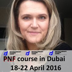 Meet  IPNFA instructor  Monika Piwnicka from Poland  Instructor who led over 40 of 10 days PNF courses for over 600 participants.  Participate in the course with her in Dubai !  PNF level 1 - International certification 18-22 April 2016 Dubai Registration and course info on http://ift.tt/1RFRSPt ........... Physiotherapy Division Dubai founded in 2009 in Dubai offers unique physio equipment and provides specialized physiotherapy international workshops for the Gulf region.  Follow the LINK…