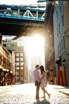 west village brooklyn engagement photos jj 06 by Shang Chen Photography