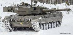 Leopard  2A4NO  норвежской армии
