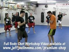 "Boxing Body Shot / Punch - Workshop with UFC Fighter Jeff ""The Inferno"" Joslin"