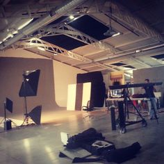 """Today we will shoot the #fashion photos of our upcoming #season """" Tomorrow's World"""" in 101 production studios.Get ready for #exclusive backstage photos and more!"""