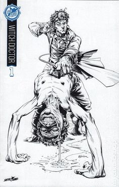 Witch Doctor (2011 Image) 1SDCC5THB&W