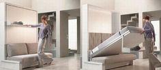 Camas plegables para ahorrar espacio en la habitacion