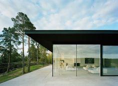 Villa Överby: alle porte di Stoccolma una villa dallo stile minimal ed elegante con una vista eccezionale