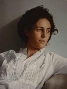 Alejandro Rosemberg 1981 | pintor argentino figurativo y hiperrealista