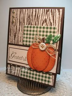Sweet And Simple DIY Thanksgiving Cards Design - Onechitecture - Wendy Trinh - Holidays Diy Thanksgiving Cards, Fall Cards, Winter Cards, Holiday Cards, Thanksgiving Decorations, Happy Thanksgiving, Halloween Decorations, Scrapbooking, Scrapbook Cards