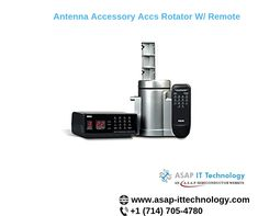 Get an instant quote for Antenna Accessory Accs Rotator W/ Remote part from International manufacturer at ASAP IT Technology Network And Security, Computer Hardware, Remote, Technology, Accessories, Tech, Hardware, Tecnologia, Pilot
