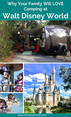 Learn why your family will love camping at Fort Wilderness, the campground at Walt Disney World. With hundreds of large RV and tent sites, 2 swimming pools, and numerous activities there is something for everyone! Camping With Kids, Family Camping, Tent Camping, Camping Gear, Camping Hacks, Family Travel, Couples Camping, Camping Cabins, Camping Style