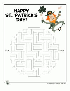 FREE St. Patrick's Day Printables from Melissa & Doug