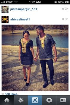 African attire Oga and Madame :P African Print Shirt, African Print Dresses, African Dress, African Shirts, African Attire, African Wear, African Women, African Style, African Inspired Fashion
