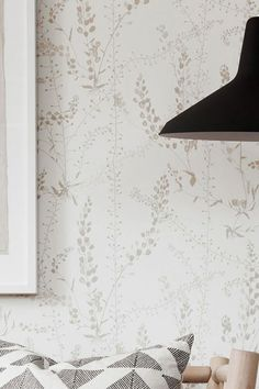 A delicate display of stylised grasses in a gorgeous combination of the colours white, beige and grey-beige provides an interesting structure witho. Flower Wallpaper, Wallpaper S, Pattern Wallpaper, Hallway Wallpaper, Beautiful Flowers Wallpapers, Grey And Beige, Gras, Create Space, Home Projects