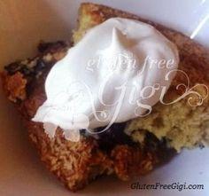 cake - Gluten Free Blueberry Coffee Cake