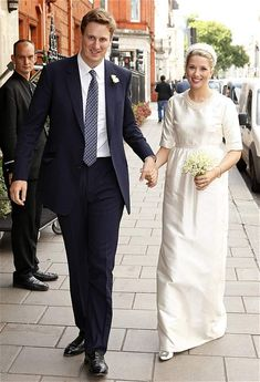 Princess Diana's nephew ties the knot on September 20, 2013: Alexander Fellowes, son of Lord and Lady Fellowes, and Alexandra Finlay married in the Palace of Westminster's Chapel of St Mary Undercroft.