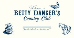 Betty Danger's Country Club is a country club on crack. It is located in the Village of Mexampton, a little known, but highly visible enclave in the beautiful Northeast Arts District of Minneapolis at 2501 Marshall Street NE.