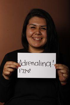 Adrenaline, Bianca Martínez, Estudiante, UANL, Santa Catarina, México