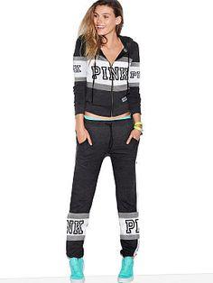 Skinny Collegiate Pant - PINK - Victoria s Secret  3a4248917e397