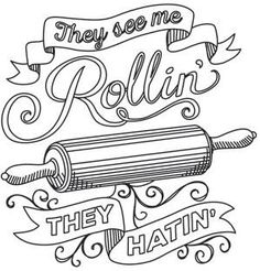 Spice It Up - They See Me Rollin'_image (great embroidery idea)