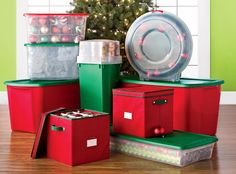 Store all your christmas items away with storage solutions from Shopko