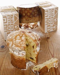 Panettone - Martha Stewart Recipes ~ The panettone is a Christmas sweet bread, which was born in Milan but it's a must-have on every holiday table all over Italy. It's not difficult, you just need a little patience!