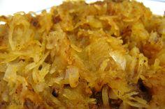Spaghetti Squash Hash Browns -