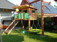 Kinderspielhaus im Garten - Bauanleitung zum Selberbauen - 1-2-do.com - Deine Heimwerker Community