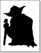 yoda silhouette