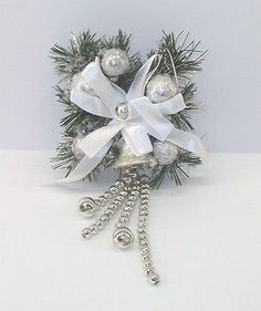 White-Clip-On-Christmas-Ornaments