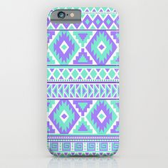 Tribal Art Creation Purple and Mint by Tjc555 $35.00 #iphone6 #iphonecases