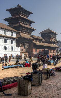 Kathmandu Market - Nepal