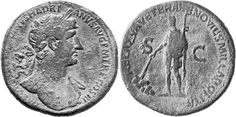 Plutei Trajan: affinity between sculptures and coins | The world of Roman Coins.