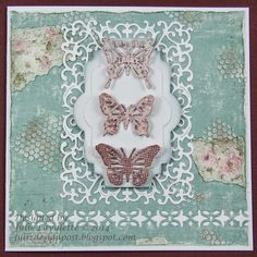 Cheery Lynn Designs Blog: Shabby Butterflies by Julie Lavalette