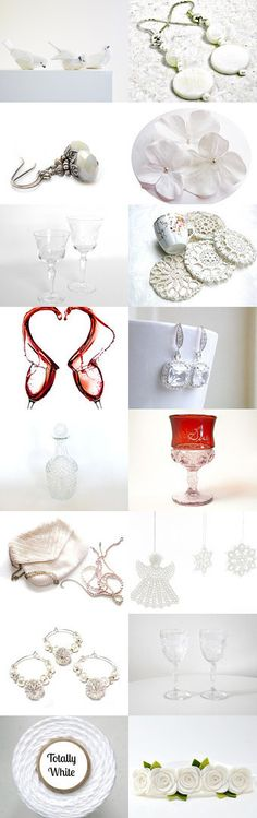 Splash Of Red Wine by Nancy and Tania on Etsy--Pinned with TreasuryPin.com