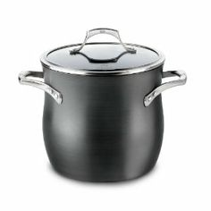 Calphalon Unison Nonstick 8 Quart Stock Pot with Lid by Calphalon. Save 11 Off!. $200.00. The specially textured Calphalon Unison SEAR NONSTICK surface seals in flavor and is ideal for sautéed vegetables, braised beef, chops and cutlets and pan sauces.. The specially textured Sear Nonstick surface has the searing capability that true chefs demand from professional-grade cookware, yet all the convenience of nonstick.. Material: Heavy-gauge, hard anodized aluminum; Sear nonstick interior...