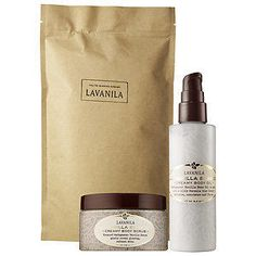Pampering and practical, the Lavanila Vanilla Bean Radiant Skin Set ($59, sephora.com), which features a Vanilla Bean Creamy Body Scrub and Vanilla Bean Hand & Body Salvation Creamy Body Oil, isn't just pretty.