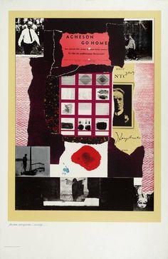 R.B. Kitaj 'Acheson Go Home', 1963–4 © The estate of R. B. Kitaj