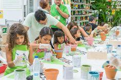 El taller infantil fue todo un éxito en Palma