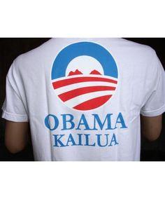 64eff21a526d9 Men s Island Snow Hawaii Basic T-Shirt - ISH Snobama  Color Options  White