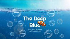 Deep Blue – Prezi Template   ShareTemplates