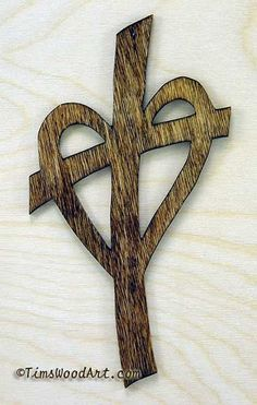 Celtic Heart, Gods Love Cross,  for Wall Hanging or Ornament, Item S3-2