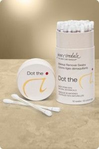Jane Iredale Dot the i Makeup removers.  Must have for makeup 'oopsies'!  Available at Mirror Mirror Salon & Spa. #makeuptips #makeup