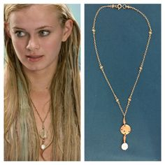 Aquamarine Movie Replica Necklace by TheVirginiaMermaid on Etsy