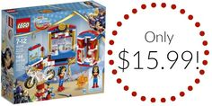 LEGO DC Super Hero Girls Wonder Woman Dorm Set Only $15.99!