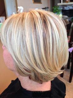 Lowlights On Grey Hair   hairstylegalleries.com