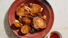 Think of these as your supremely crispy salt-and-vinegar-inspired chicken thighs.