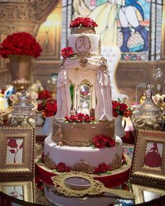 21 Best Summer Quinceanera Themes weddingtopia is part of Quinceanera cakes - Even though a party could be big or little, the real particulars of the event are important Quinceanera Planning, Quinceanera Decorations, Quinceanera Themes, Quince Decorations, Wedding Decorations, Beauty And The Beast Wedding Theme, Quince Cakes, Cake Wrecks, Disney Cakes